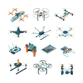 ドローン。航空機イノベーション航空技術航空写真等尺性