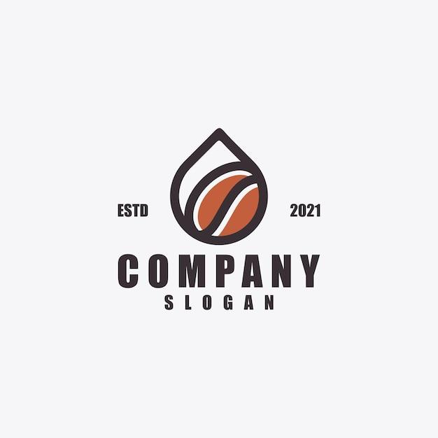 ドロップコーヒーのロゴデザイン