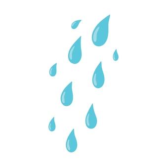 落とす。泣き、涙の概念