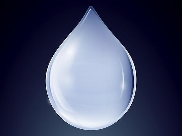 Drop of water logo design