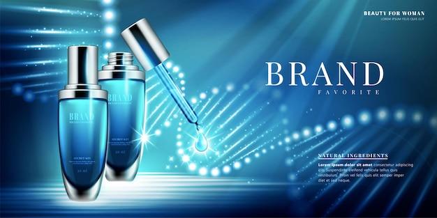 Droplet bottle ads