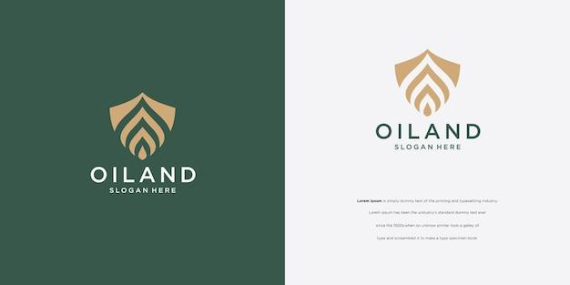 Droplet logo design and flower logotype logo design