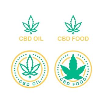 상업 비즈니스 의료 대마초 건강 서비스 웹사이트에 대 한 배경에 점 적기 병 벡터 노란색과 녹색 라인 아트 기호