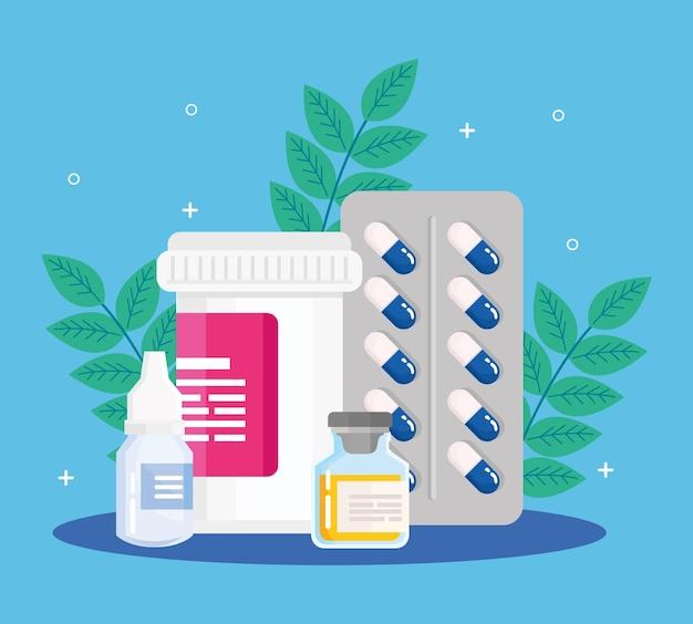 마약과 잎