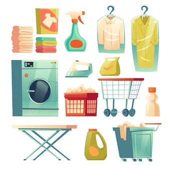 Dry cleaning service, laundry equipment