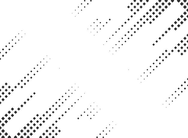 Dual corner geometric half tone background