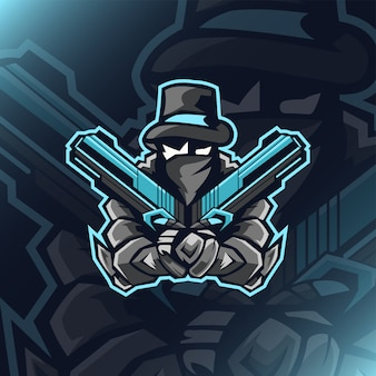 Dual gunner mafia e sport logo