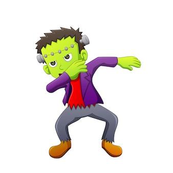Dubbing cartoon zombie