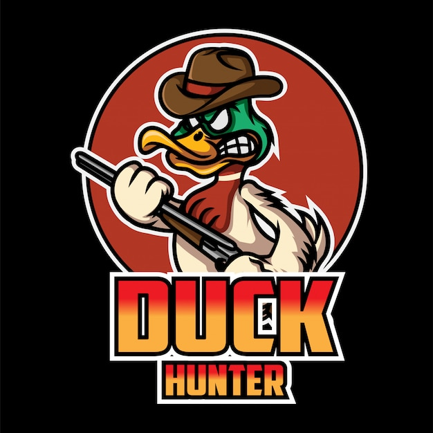 Логотип duck hunter esport