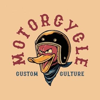Duck motorcycle
