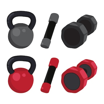 Dumbbell vector collection design