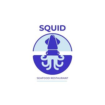 Двухцветный логотип ресторана