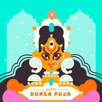 Durga-puja event celebration theme