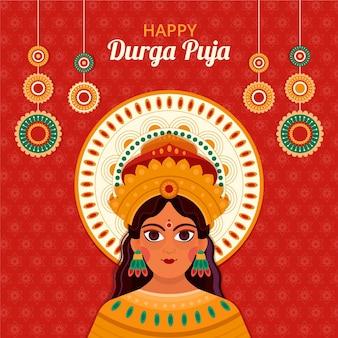 Durga puja festival