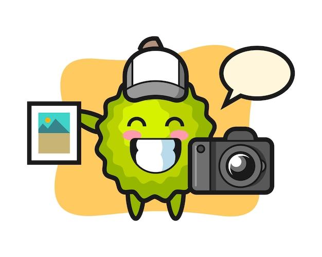 写真家としてのドリアンの漫画