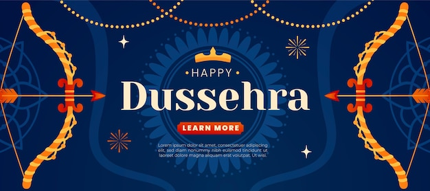 Dussehra banner concept