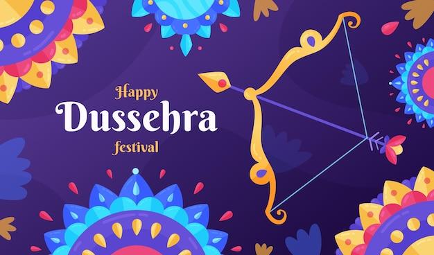Dussehra banner template