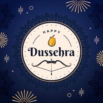 Dussehra event concept
