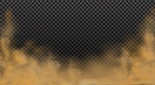 Пылевое облако с частицами грязи, сигаретного дыма, смога, частиц почвы и песка.