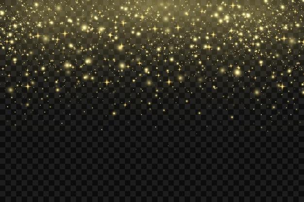 ほこりの粒子、光線。ほこりの輝く筋
