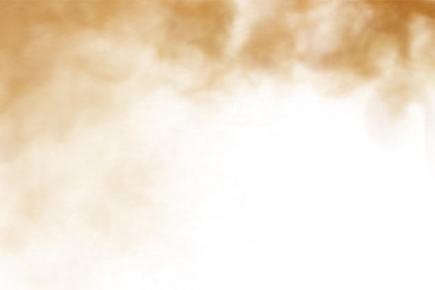 車からほこりっぽい道の砂砂雲。
