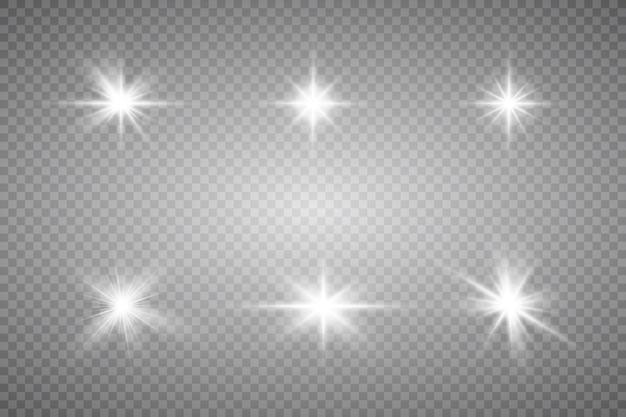 Dust white white sparks