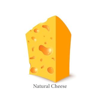 Голландский сыр low poly свежие питательные вкусные твердые сыры сыр в технике триангуляции