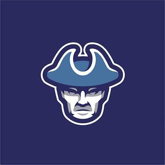 Dutchman mascot logo