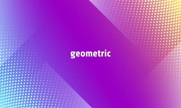 Dynamic abstract background in trendy gradient color