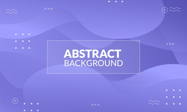 Dynamic abstract liquid purple background