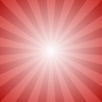 Dynamic abstract sun rays background - vector graphic design from radial stripe pattern