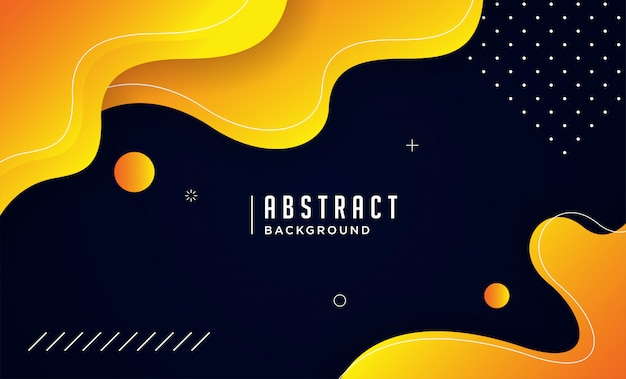 Dynamic background with fluid shapes