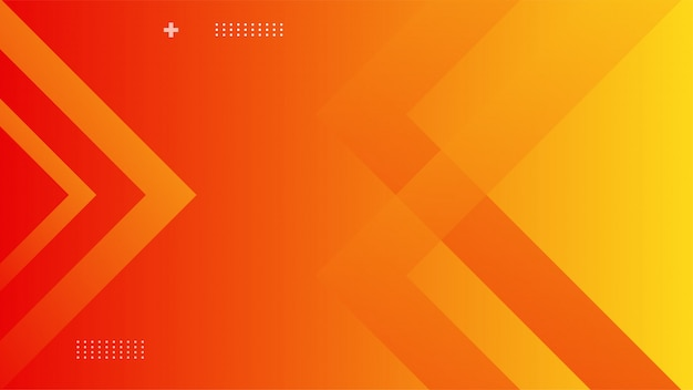 Dynamic background with orange gradient color