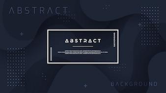 Динамический черный текстурированный фон в стиле 3D.