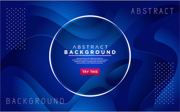 Dynamic blue 3d textured style background