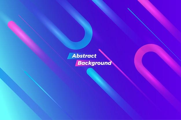 動的な青い抽象モーション背景デザイン