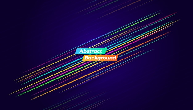 Dynamic colorful motion background