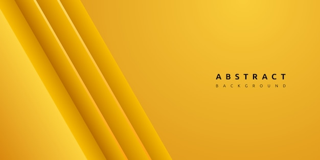 Dynamic colorful yellow stripe and clean texture background