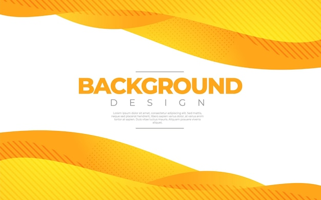 Динамическая жидкость. оранжевый цвет в 3d стиле