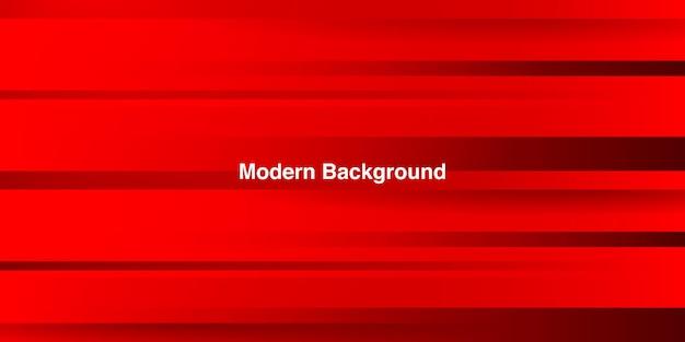 다채로운 그라데이션 backgroun와 동적 유체 빨간색 기하학적