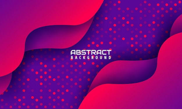 Dynamic geometric background with bright color shapes,