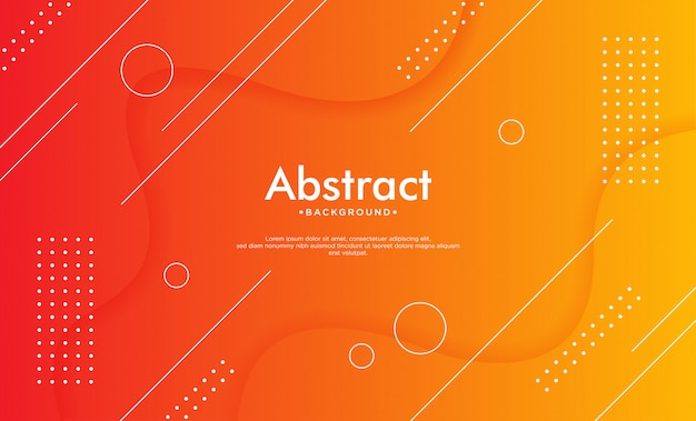 Dynamic geometric background.
