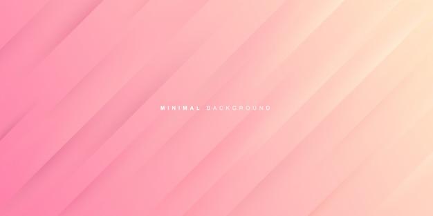 분홍색 배경의 동적 그라데이션 프리미엄 벡터