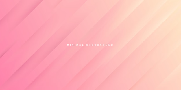 Dynamic gradient of pink background