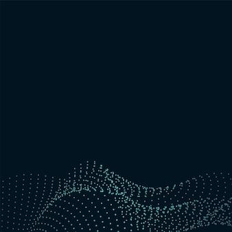 Sfondo di tecnologia geometrica mesh griglia dinamica Vettore gratuito