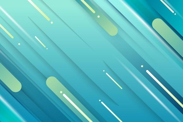 ダイナミックラインの背景のグラデーションスタイル