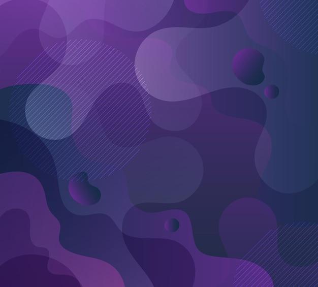 Динамическая жидкая волна красочный фон