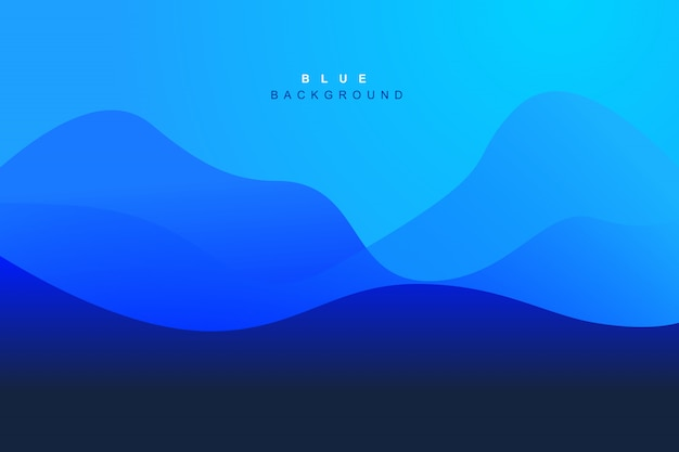 Dynamic modern gradient wave background