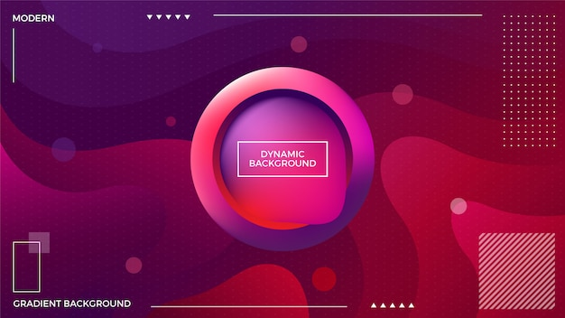 Dynamic red purple background