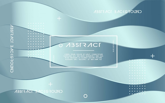 Dynamic silver abstract modern background
